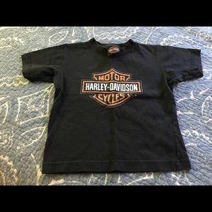 Harley Davidson vintage boys tee